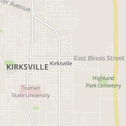 Address of T P's Office, Kirksville   T P's Office, Kirksville ... on oak grove map, carthage map, webb city map, london map, branson west map, southwest city map, saint joseph map, rapid city map, springfield il map, fair grove map, sioux city map, willow springs map, adair county map, dunklin county map, western il map, earth city map, van buren park map, belton map, santa ana map, lees summit map,