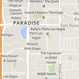 Miracle Mile Las Vegas Map.Address Of Gordon Ramsay Burger The Strip Gordon Ramsay Burger