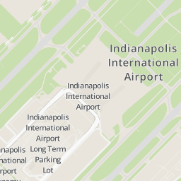 indianapolis airport map