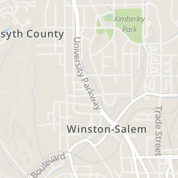 downtown winston salem map