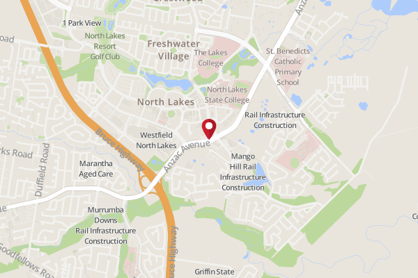 map of north lakes brisbane Address Of Subway North Lakes Subway North Lakes Brisbane map of north lakes brisbane