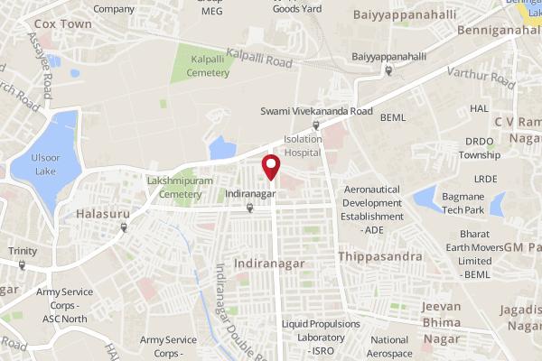 Indira Nagar Bangalore Map Address of Truffles, Indiranagar   Truffles, Indiranagar