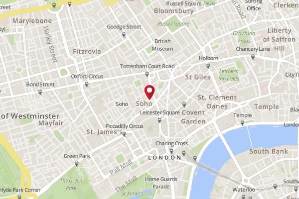 Map Soho London.Address Of Ed S Easy Diner Moor Street Soho Ed S Easy Diner
