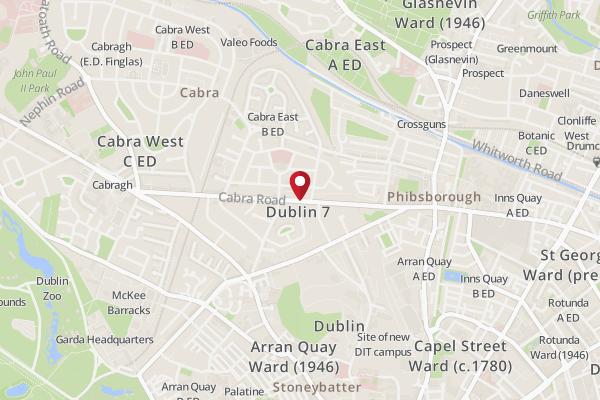 Map Of Dublin 7 Ireland.Address Of Rainbow Cabra Rainbow Cabra Dublin Location Zomato